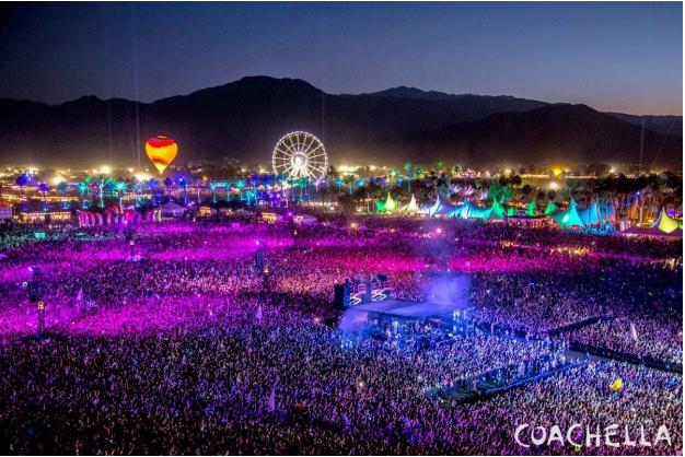 Coachella's Aerial View