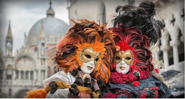 Venice Carnival Masks